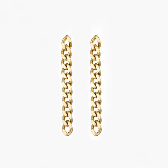 Ohrringe Glieder bold gold